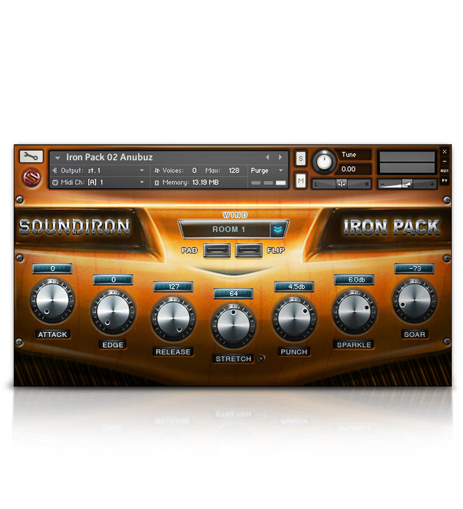 Iron Pack 2 - Turkish Guitar - Micropaks - virtual instrument sample library for Kontakt by Soundiron