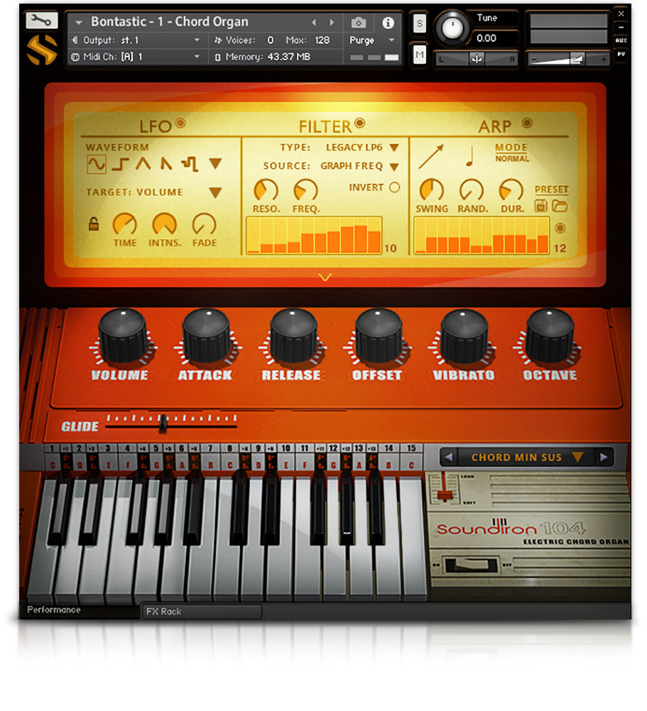 Bontastic! - Pianos and Organs - virtual instrument sample library for Kontakt by Soundiron