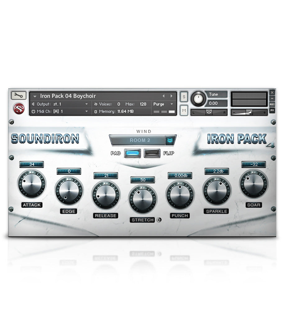 Iron Pack 4 - Children's Choir - Micropaks - virtual instrument sample library for Kontakt by Soundiron