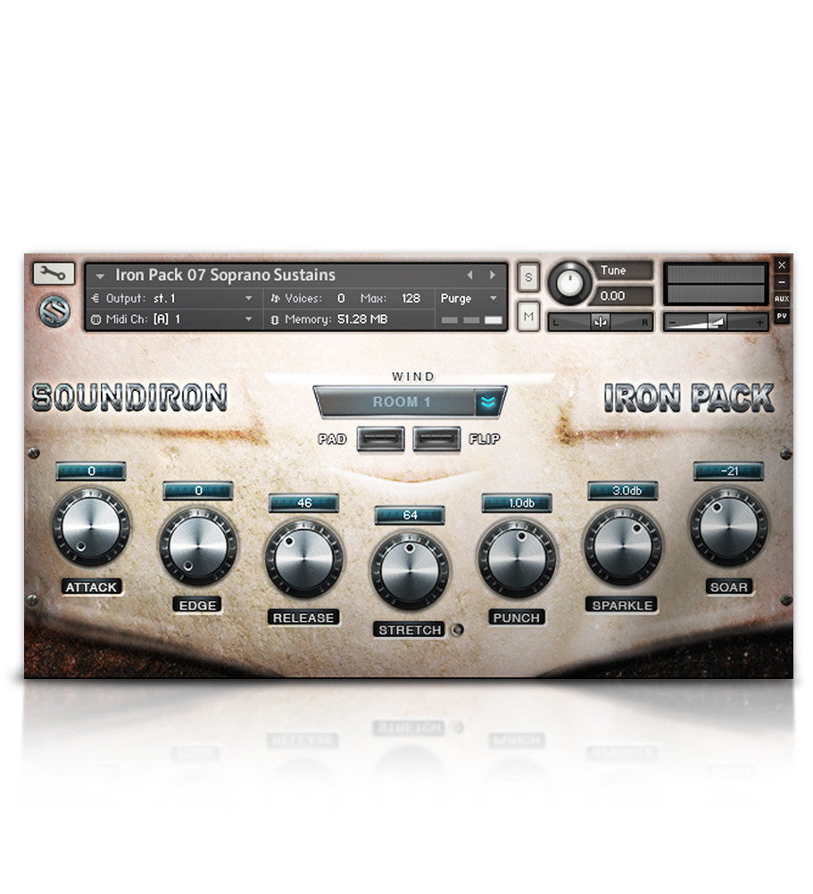 Iron Pack 7 - Soprano Voice - Micropaks - virtual instrument sample library for Kontakt by Soundiron