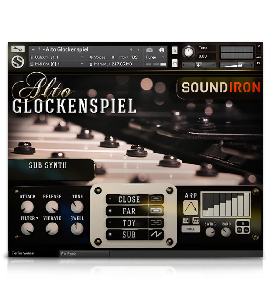 Alto Glockenspiel - Tuned Percussion - virtual instrument sample library by Soundiron