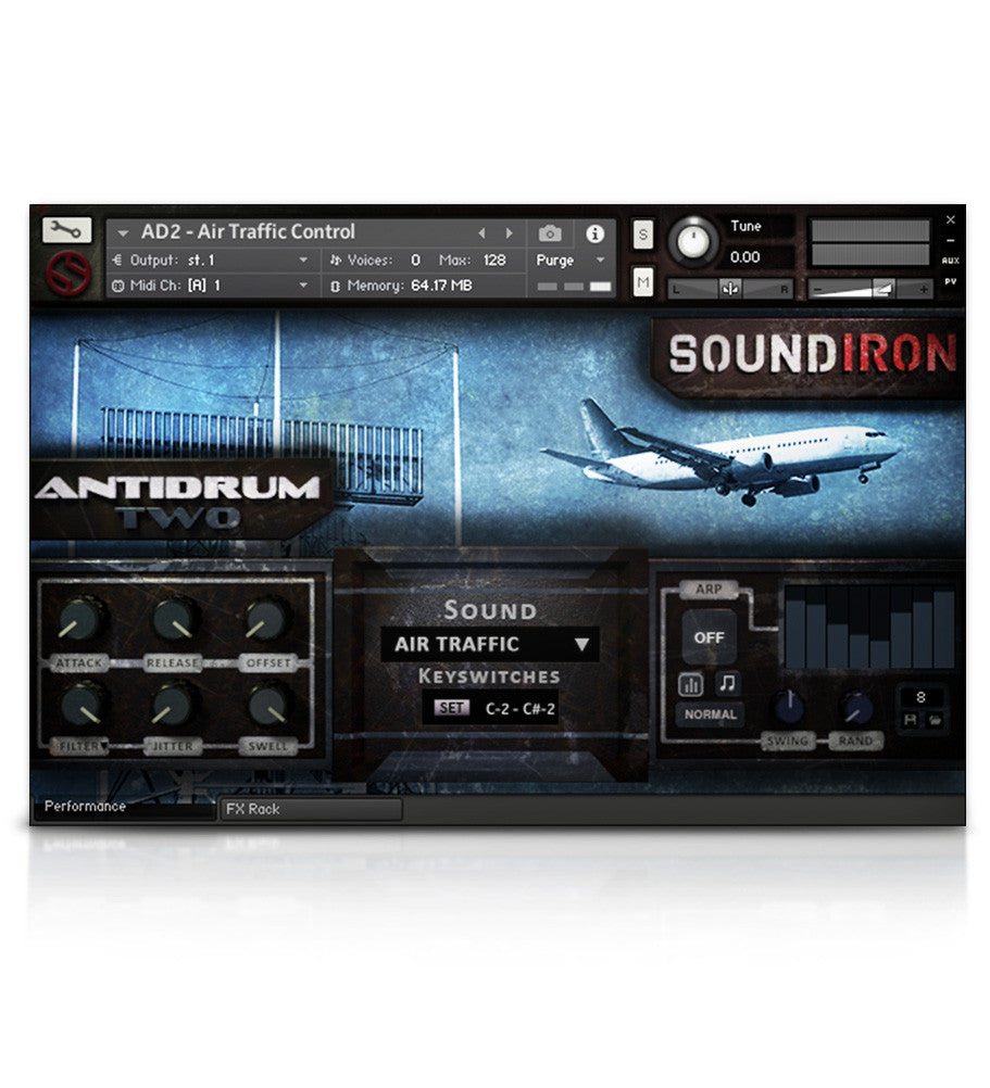 Antidrum 2 - Experimental - virtual instrument sample library for Kontakt by Soundiron