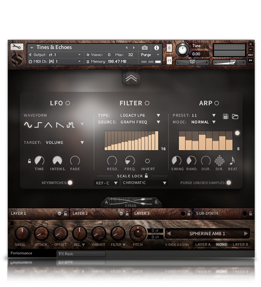 Hopkin Instrumentarium : Tines & Echoes - Experimental - virtual instrument sample library for Kontakt by Soundiron