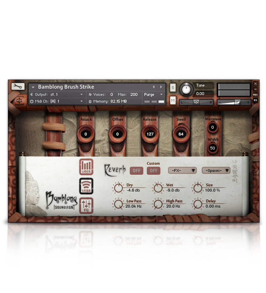 Bamblong - Tuned Percussion - virtual instrument sample library by Soundiron