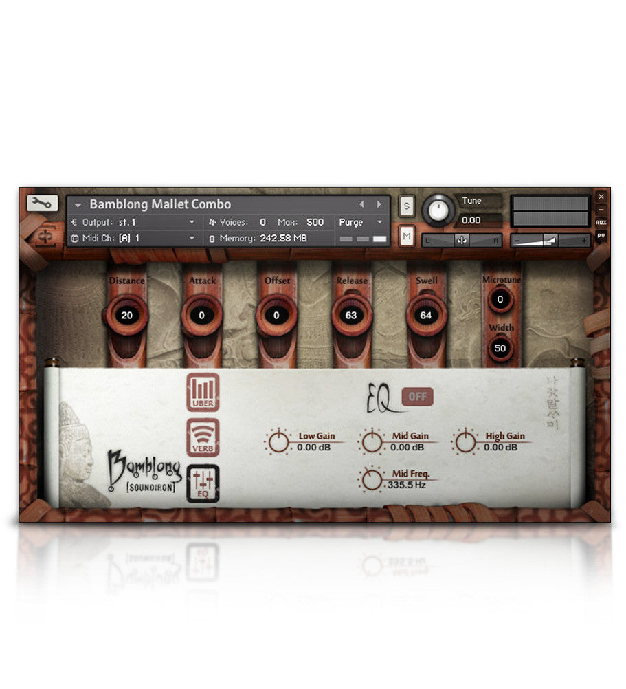 Bamblong - Tuned Percussion - virtual instrument sample library for Kontakt by Soundiron
