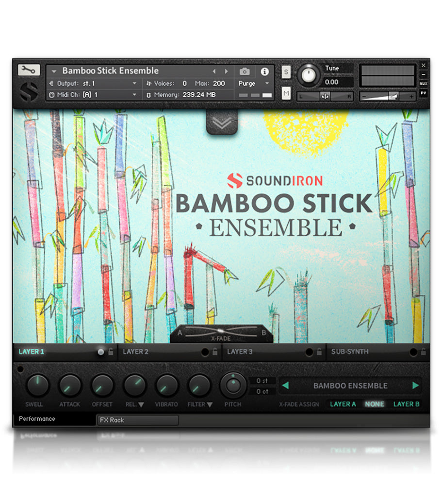 Bamboo Stick Ensemble