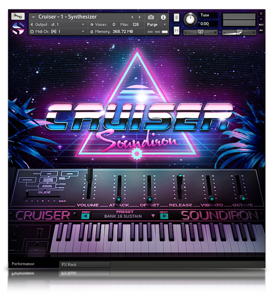 Cruiser - Pianos and Organs - virtual instrument sample library for Kontakt by Soundiron