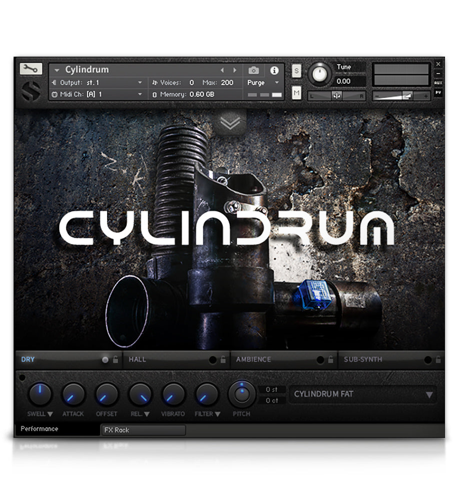 Cylindrum - Tuned Percussion - virtual instrument sample library for Kontakt by Soundiron