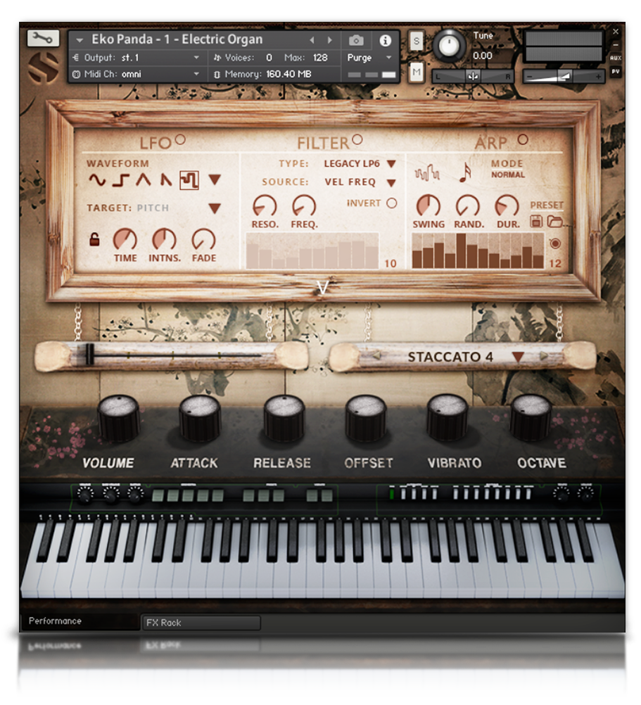 Eko Panda - Pianos and Organs - virtual instrument sample library for Kontakt by Soundiron