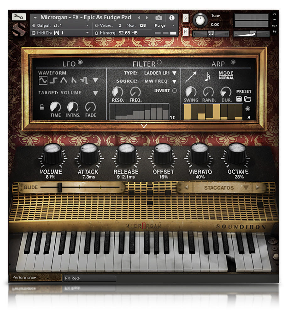 Microrgan - Pianos and Organs - virtual instrument sample library for Kontakt by Soundiron