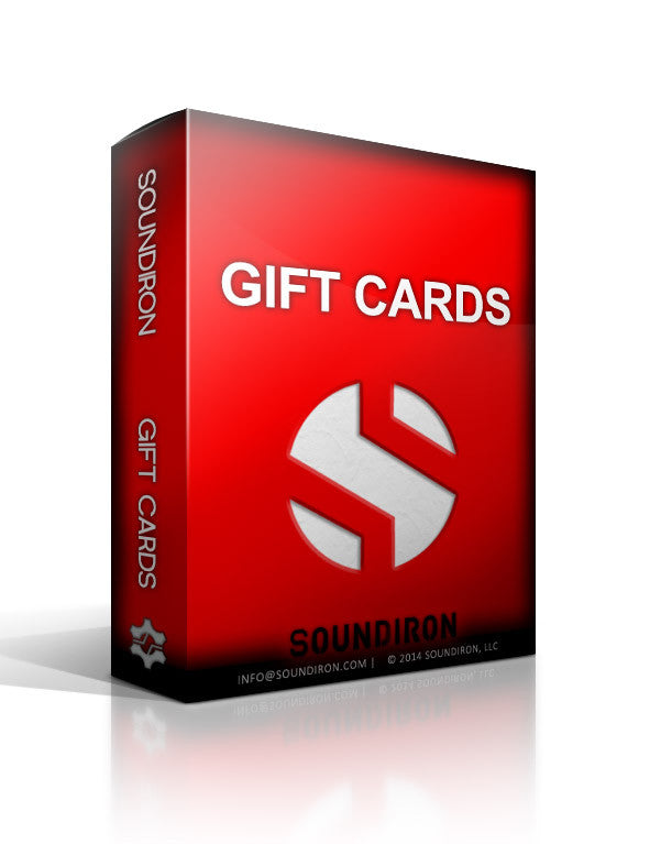 Gift Cards - Gift Card - virtual instrument sample library by Soundiron