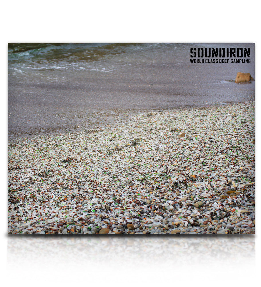 Glass Beach - Percussion - virtual instrument sample library for Kontakt by Soundiron