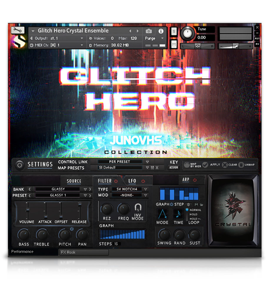 Glitch Hero - Experimental - virtual instrument sample library for Kontakt by Soundiron