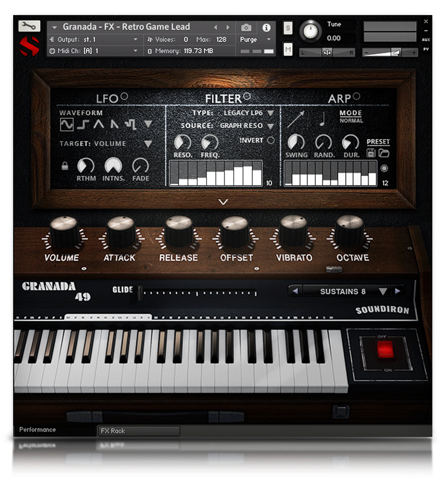 Granada 49 - Pianos and Organs - virtual instrument sample library for Kontakt by Soundiron