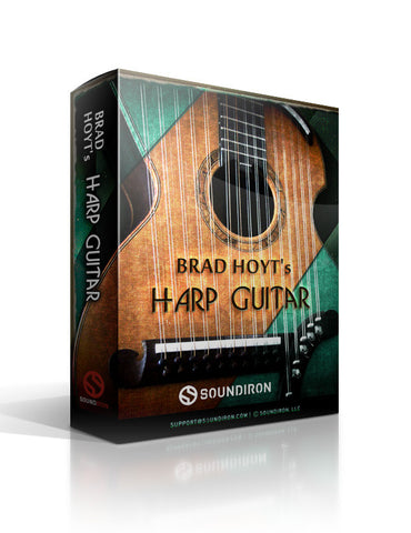 Brad Hoyt's Harp Guitar - Strings - virtual instrument sample library by Soundiron