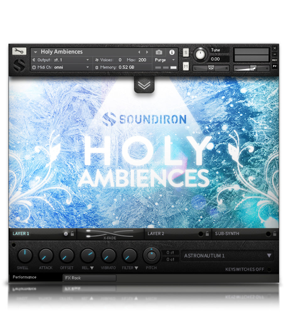Holy Ambiences - Micropaks - virtual instrument sample library for Kontakt by Soundiron