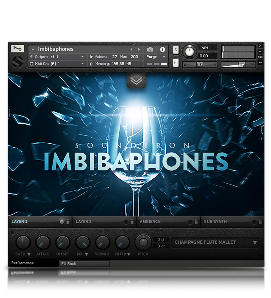 Imbibaphones - Tuned Percussion - virtual instrument sample library for Kontakt by Soundiron