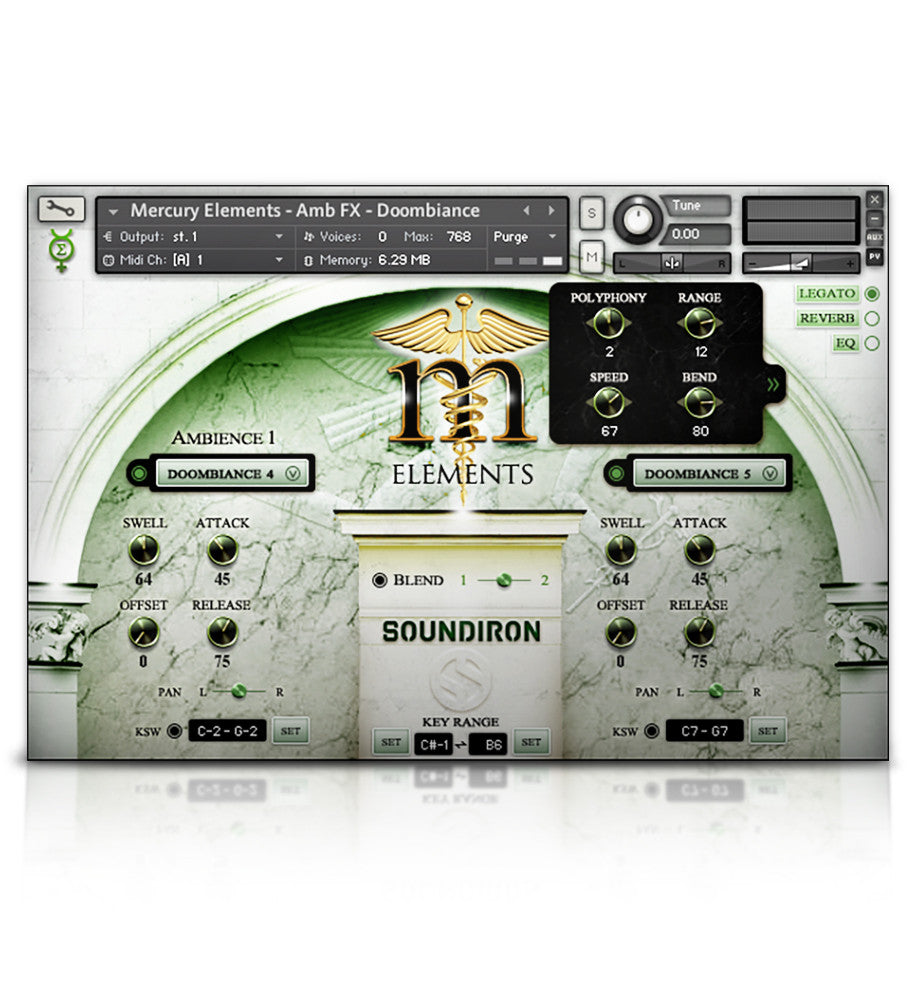 Mercury Elements - Player Edition - Mercury Series - virtual instrument sample library by Soundiron