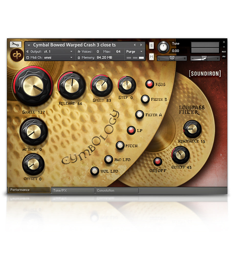Drum Bundle - Percussion - virtual instrument sample library for Kontakt by Soundiron