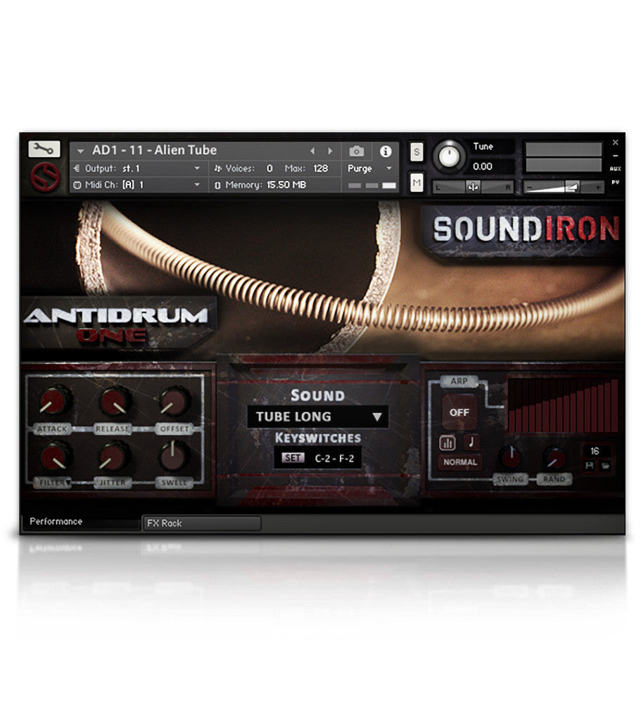Antidrum 1 - Experimental - virtual instrument sample library for Kontakt by Soundiron
