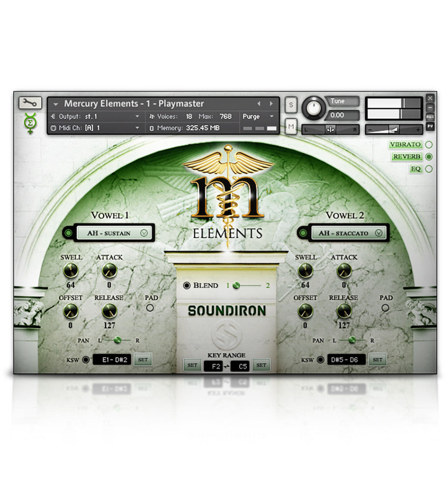 Mercury Boys' Choir Elements - Mercury Series - virtual instrument sample library for Kontakt by Soundiron
