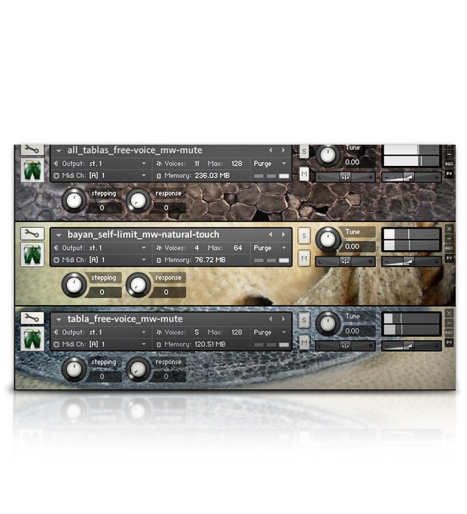 Drum Bundle - Percussion - virtual instrument sample library by Soundiron