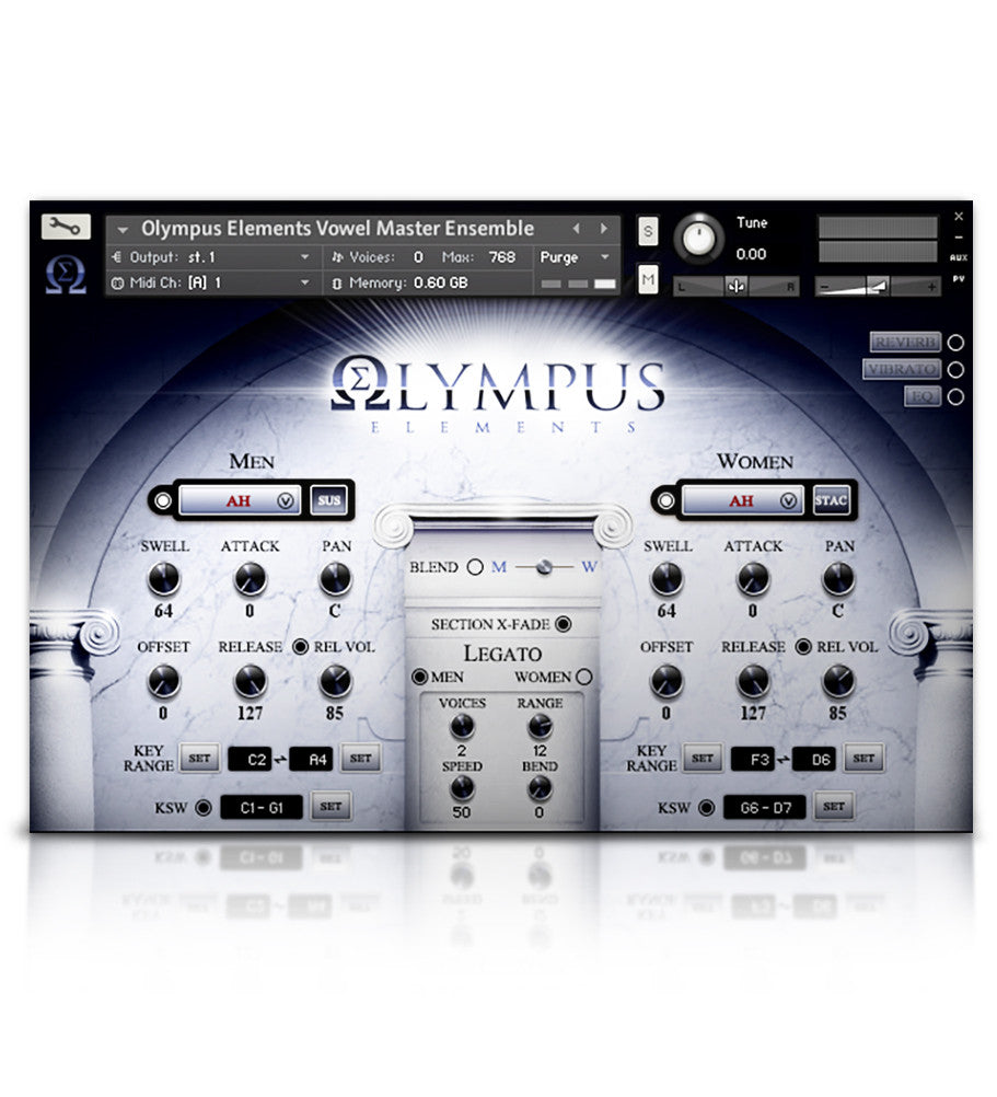 Olympus Choir Elements - Olympus Series - virtual instrument sample library for Kontakt by Soundiron