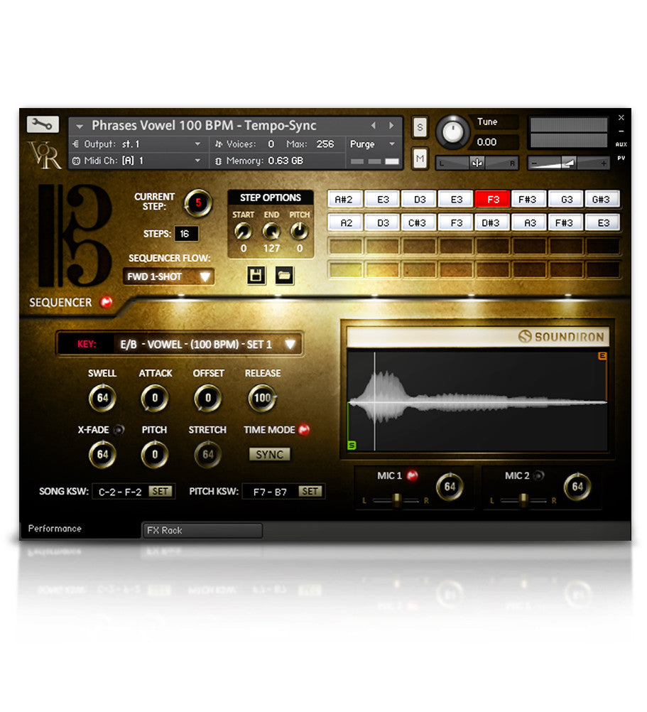 Voice of Rapture: The Tenor - Solo Voice - virtual instrument sample library for Kontakt by Soundiron