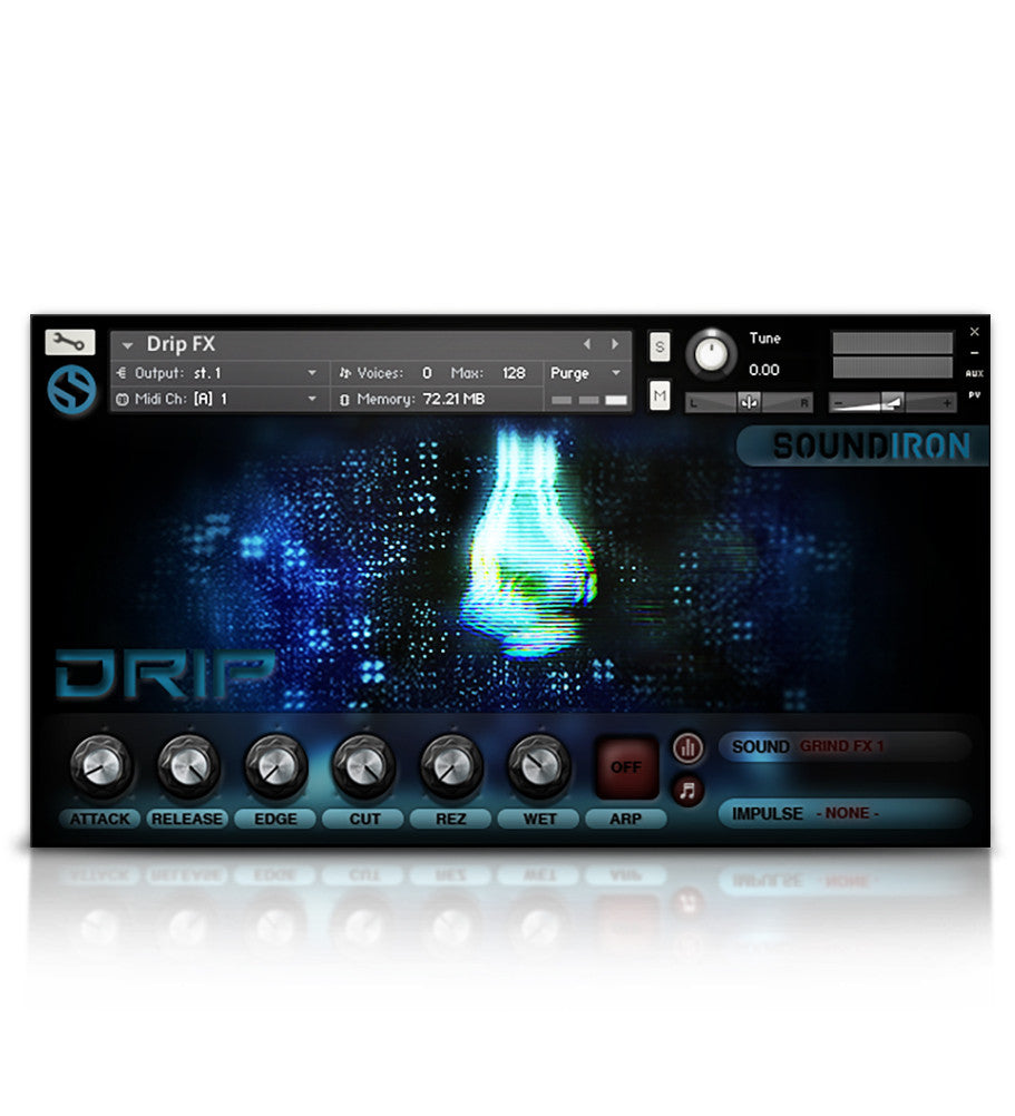 Drip - Juno VHS Series - virtual instrument sample library for Kontakt by Soundiron
