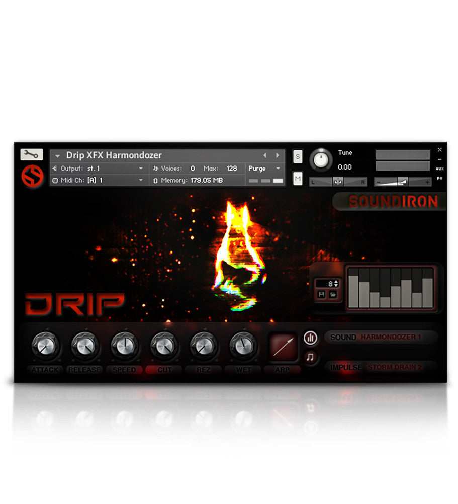 Drip - Percussion - virtual instrument sample library by Soundiron