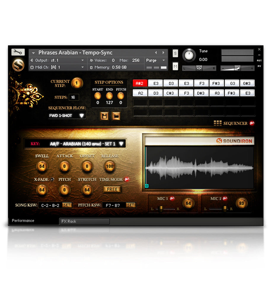 Voice of Gaia: Bryn - Solo Voice - virtual instrument sample library for Kontakt by Soundiron
