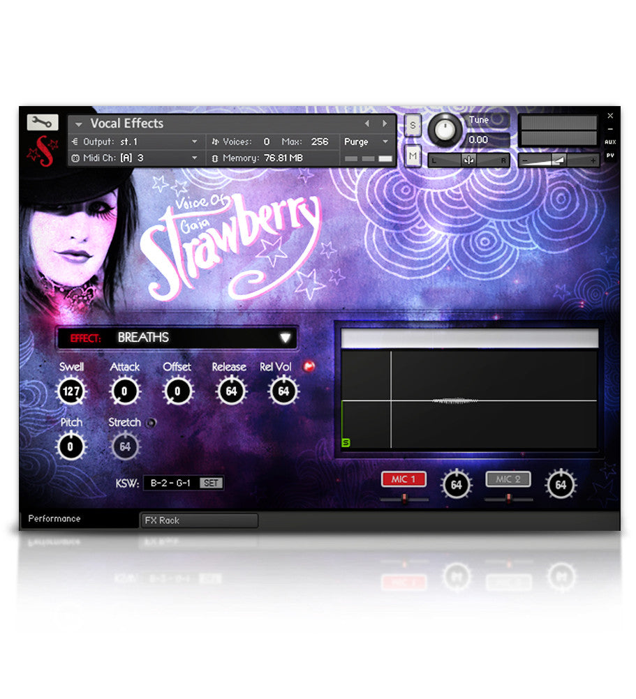 Voice of Gaia: Strawberry - Solo Voice - virtual instrument sample library by Soundiron