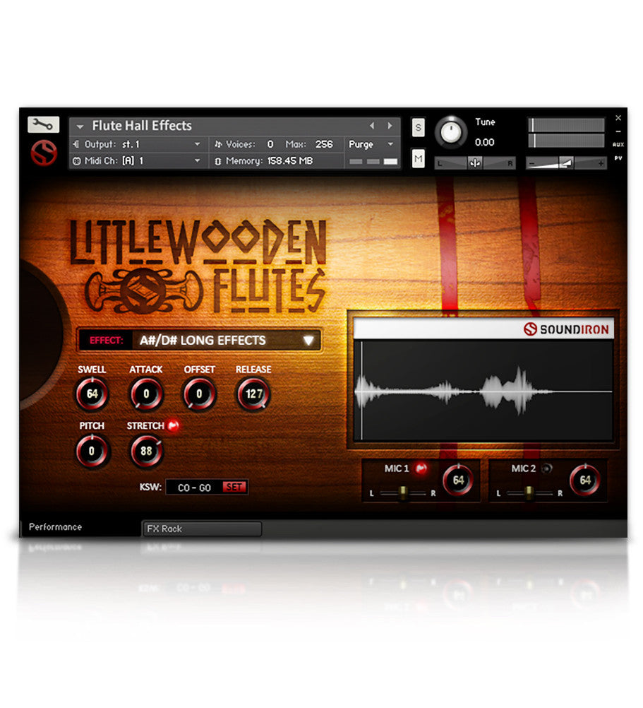 Little Wooden Flutes - Wind - virtual instrument sample library for Kontakt by Soundiron