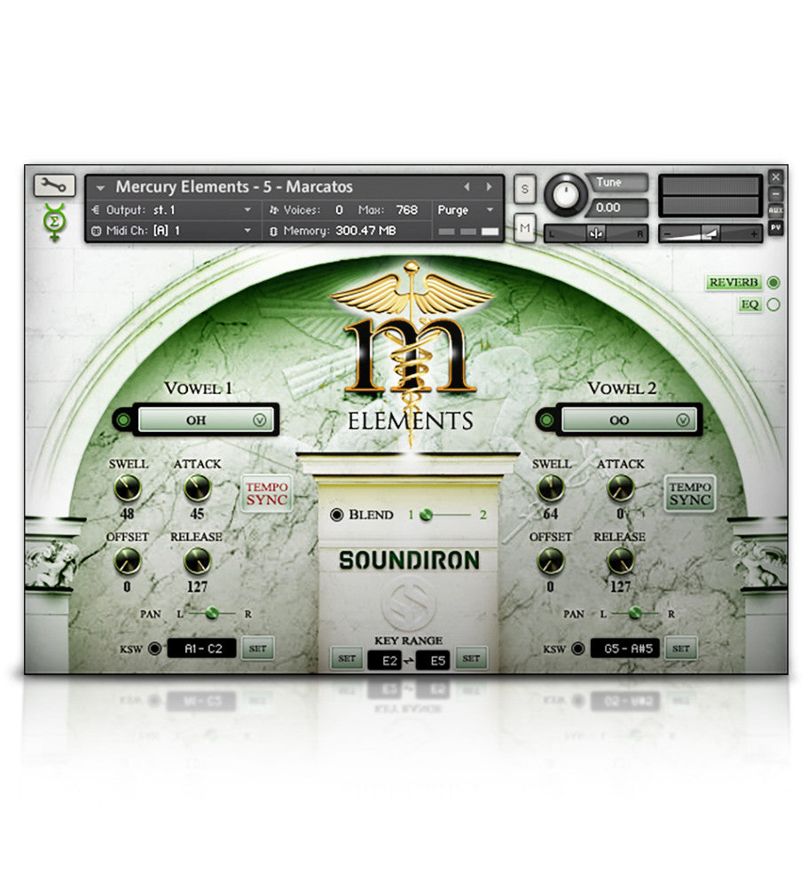 Mercury Elements - Player Edition - Choir - virtual instrument sample library by Soundiron