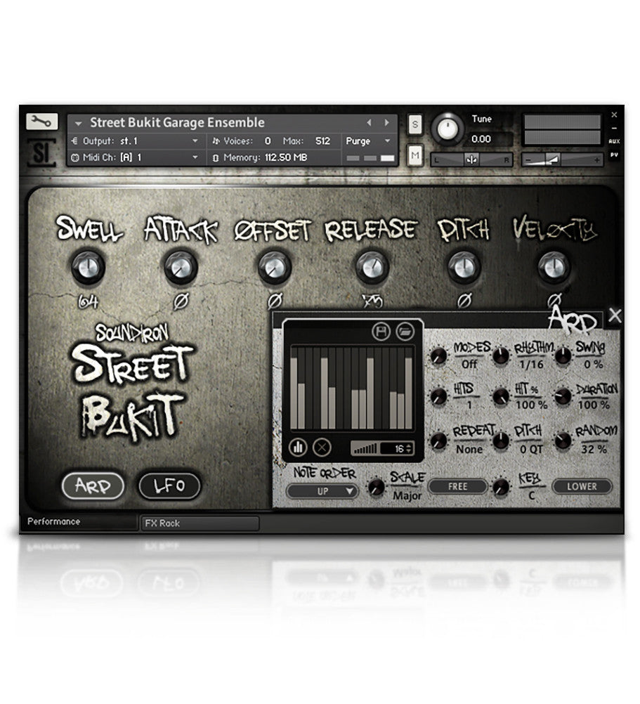 Street Bukit - Percussion - virtual instrument sample library for Kontakt by Soundiron