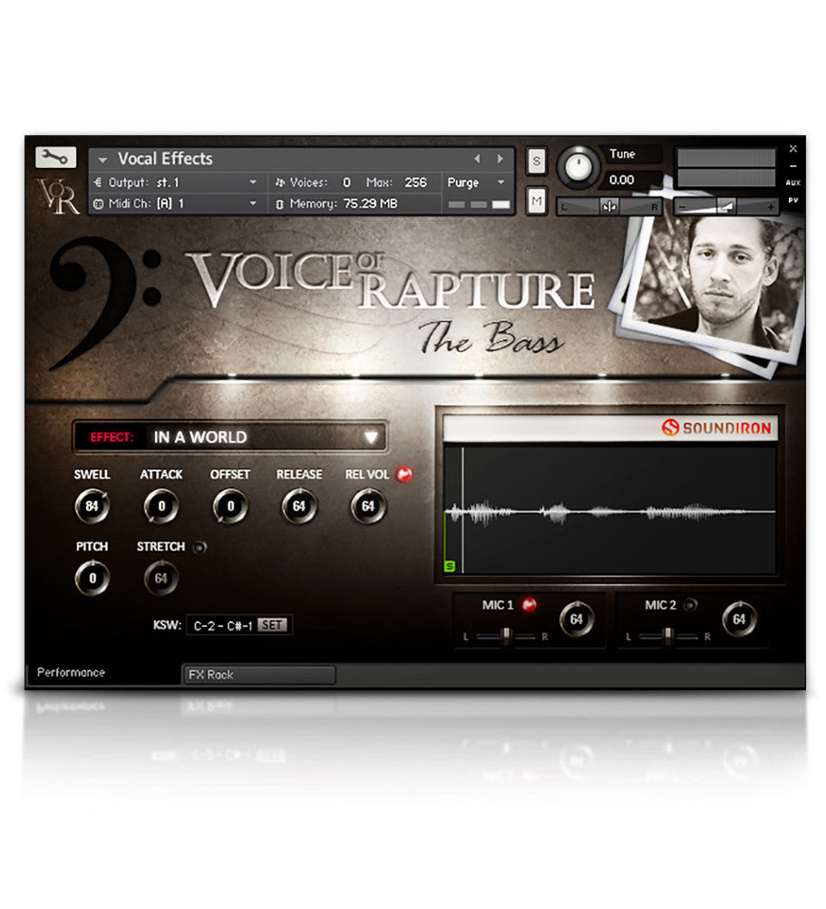 Voice of Rapture: The Bass - Solo Voice - virtual instrument sample library by Soundiron