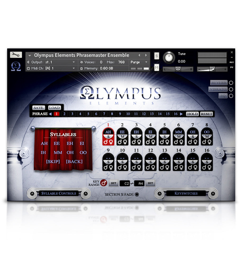 Olympus Elements - Player Edition - Olympus Series - virtual instrument sample library by Soundiron