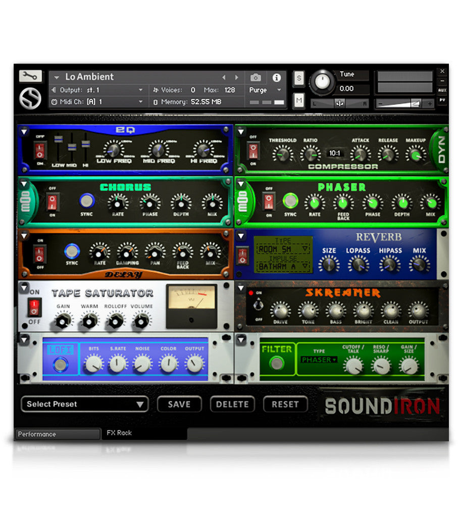 Lo - Juno VHS Series - virtual instrument sample library for Kontakt by Soundiron