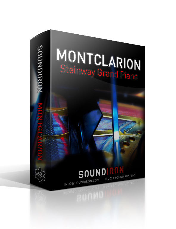 Montclarion Hall Grand Piano - Pianos and Organs - virtual instrument sample library by Soundiron