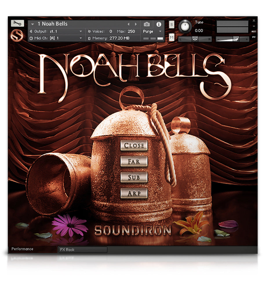 Noah Bells - Tuned Percussion - virtual instrument sample library for Kontakt by Soundiron
