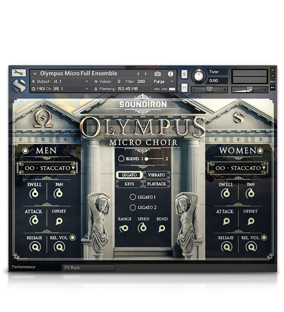 Olympus Choir Micro - Olympus Series - virtual instrument sample library for Kontakt by Soundiron