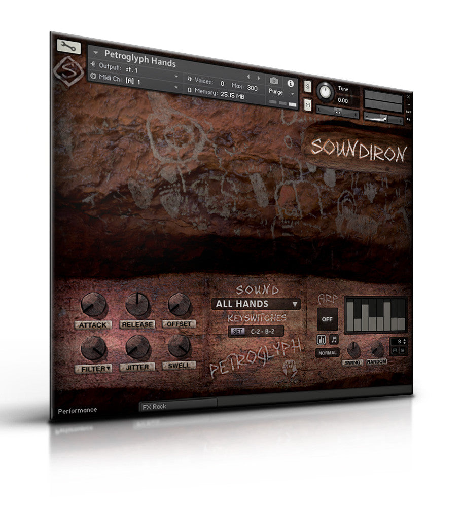 Petroglyph - Tuned Percussion - virtual instrument sample library for Kontakt by Soundiron