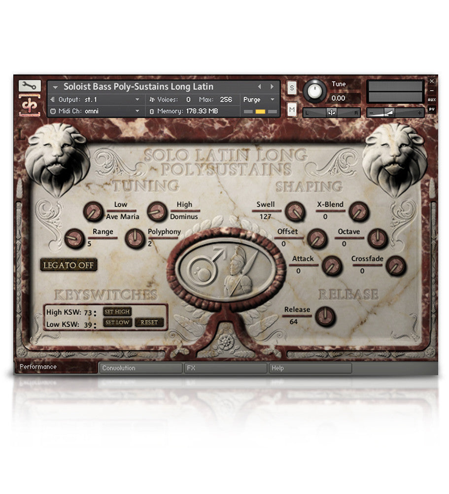 Mars Symphonic Men's Choir - Olympus Series - virtual instrument sample library for Kontakt by Soundiron