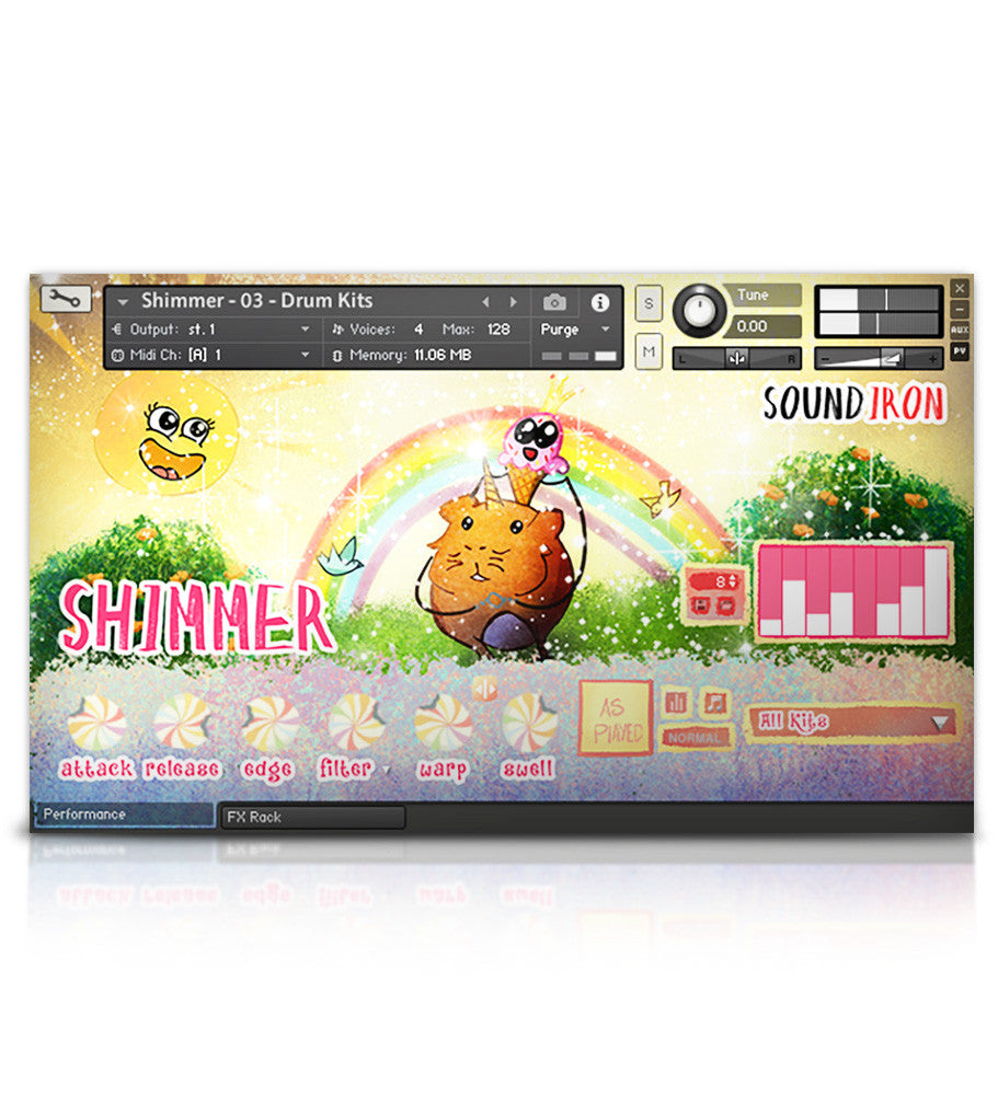 Shimmer - Juno VHS Series - virtual instrument sample library for Kontakt by Soundiron