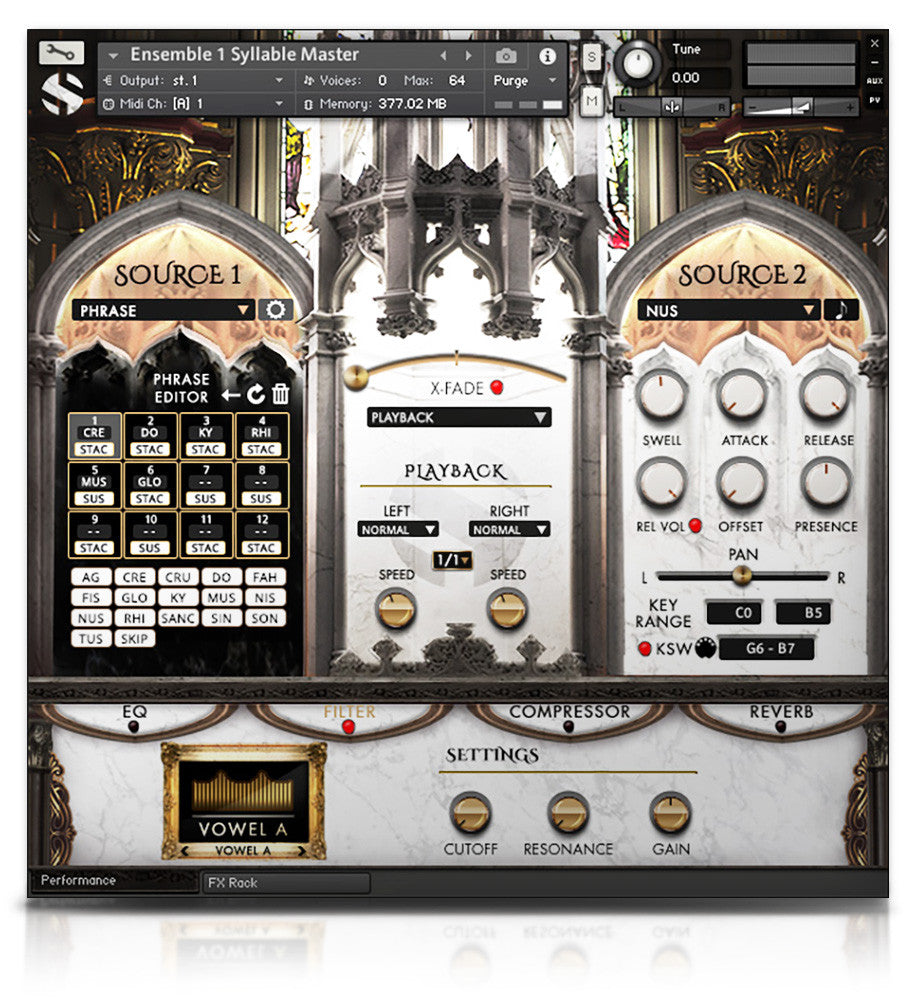 Requiem Light Symphonic Choir - Kontakt Player - virtual instrument sample library for Kontakt by Soundiron