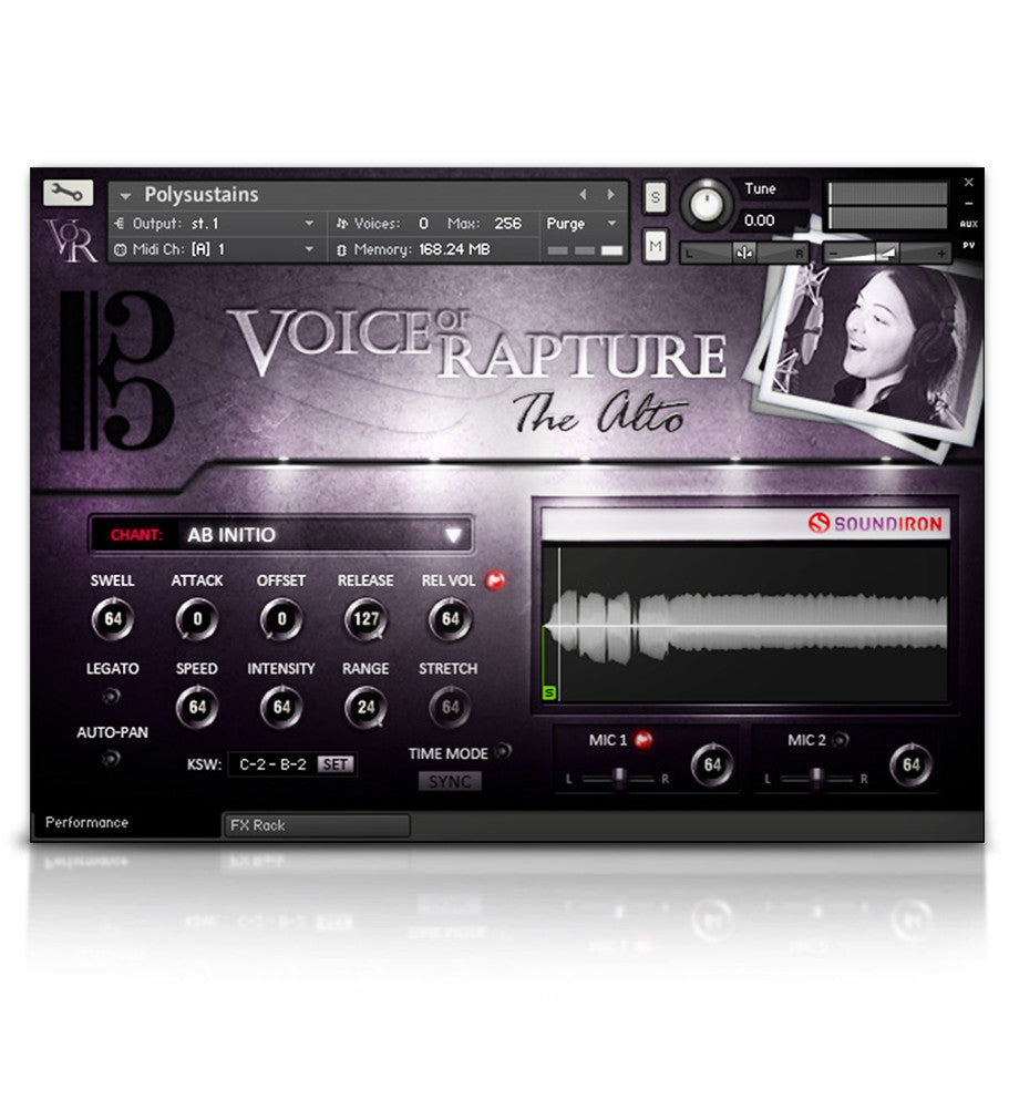 Voice of Rapture: The Alto - Solo Voice - virtual instrument sample library by Soundiron