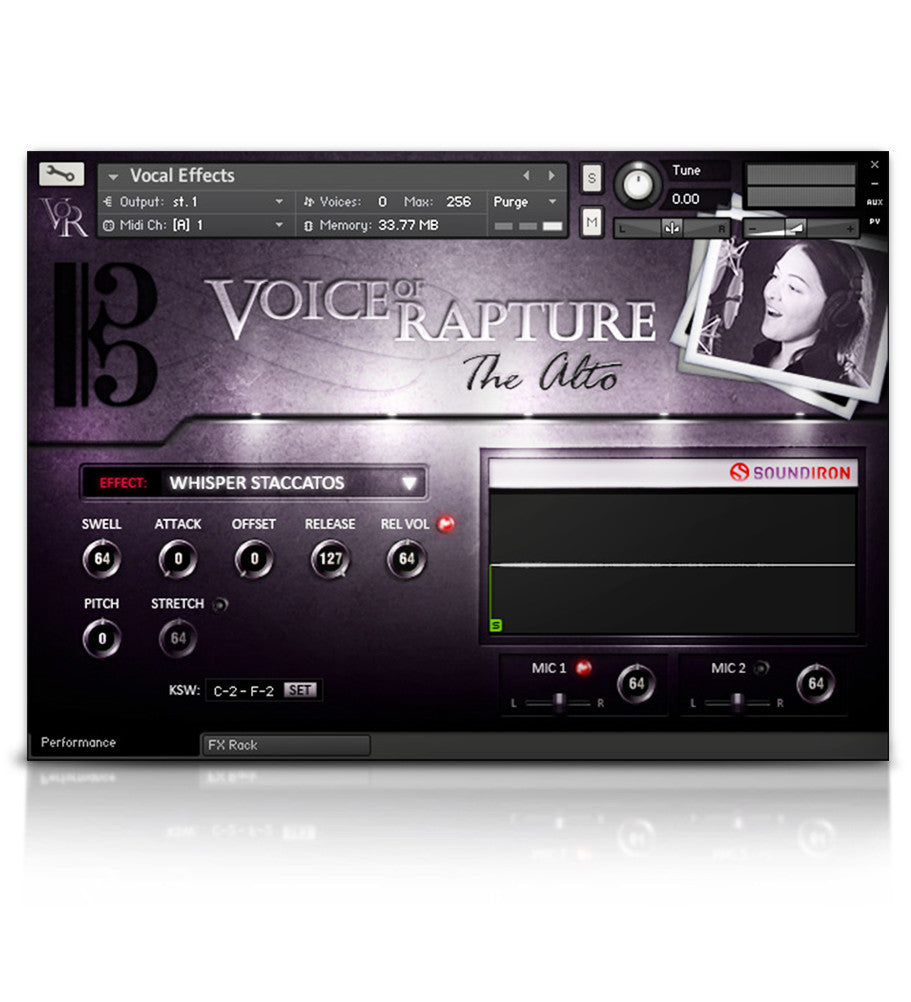 Voice of Rapture: The Alto - Solo Voice - virtual instrument library by Soundiron