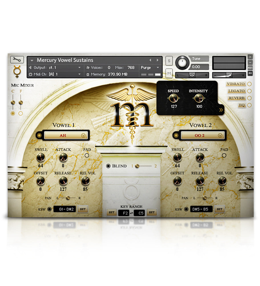 Mercury Symphonic Boys' Choir - Mercury Series - virtual instrument sample library for Kontakt by Soundiron
