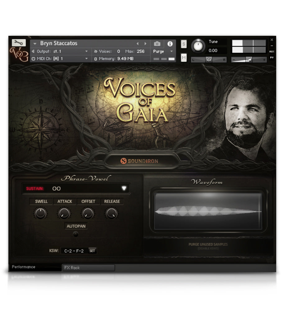 Voices Of Gaia - Solo Voice - virtual instrument sample library for Kontakt by Soundiron