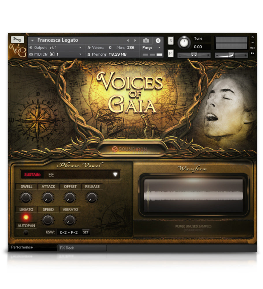 soundiron – voices of gaia (kontakt)